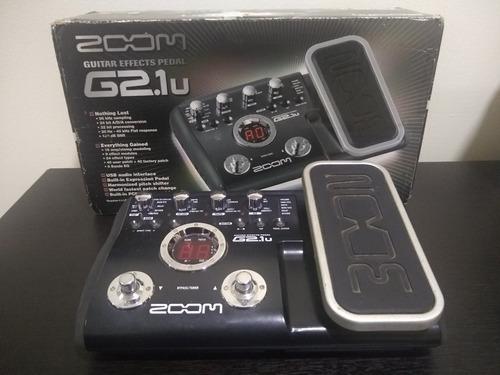 Pedalera Zoom G2.1u Como Nueva