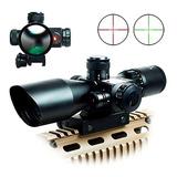Mira Telescopica Rifle Laser Asalto Bushnell Rojo Zoom