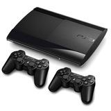 Playstation 3 500gb Rf+ Juegos + 2 Controles + Fifa 19 Ps3