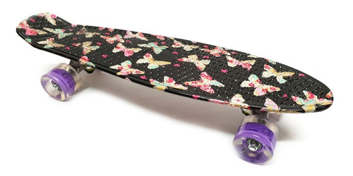 Patineta Tabla Skate Penny Mini Long  Estampada Envío Gratis