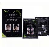Shampoo Oscurece De Canas 5 Min Black Hair Shampoo X Unidad