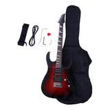 Kit De Guitarra Eléctrica Ktaxon Irin, Incluye Estuche,