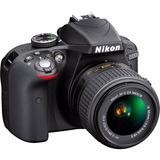 Cámara Nikon D3300 +18-55mm Vr Obsequio Estuche.