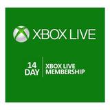 Xbox Live Gold 14 Dias Global Para Xbox 360/one Region Libre