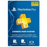 Playstation Psn Plus 12 Meses 365dias 1 Año Ps4-ps3 + Juegos