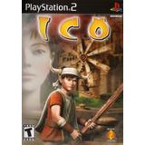 Ico  Juego Playstation 2  Ps2 (sólo Dvd)
