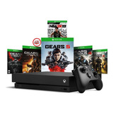 Consola Xbox One X 4k 1tb Gears Of War 5 + Extra