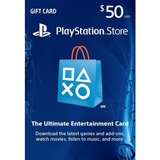 Tarjeta Psn 50 Usd Playstation Gift Card