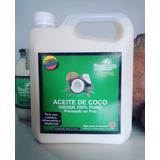 En Oferta Aceite De Coco Galon 3 Litros 100% Natural Y Puro