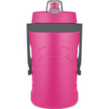 Botella De Agua Under Armour Sideline 64 Onzas, Rebel Pink!