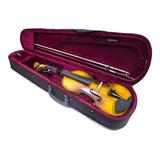 Violines Greko 4/4 3/4 1/2 Violín Fina Madera Factura Iva