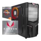 Torre Cpu Gamer Ryzen 5 2400g Vega 11 1tb 8gb Pc Wifi Gratis