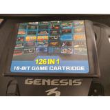 Multijuego 126 En 1 Sega Genesis