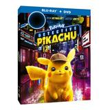 Blu Ray + Dvd Detective Pikachu  Pokémon