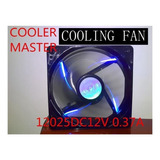 Kit Ventilador Chasis Cooler Master 120 Mm 2000 Rpm Azul