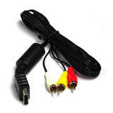 Cable Rca Av Playstation Ps1 Ps2 Y  Ps3 1.5mts