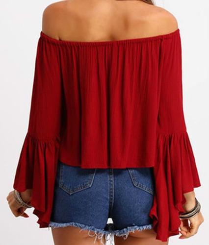 Blusas para mujer Limonni LI614 Campesinas