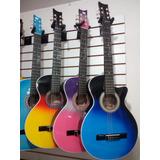 Guitarra Acustica 3/4 Para Niños Con Forro