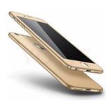 Forro Estuche Carcasa Case 360º iPhone 6/6s/7/8/plus +vidrio