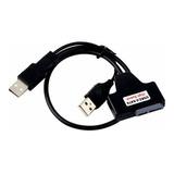 Cable Convertidor Sata A Usb 2.0 Para Unidad Dvd De Portatil