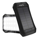 Topbest Solar Charger, 10000 Mah Power Bank