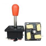 Palanca Arcade+ Kit 8 Botones Con Micro + 1 Interfaz+ Cables