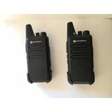 Radio De Comunicación Motorola  C1 + 2 Manos Libres  Gratis