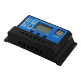 Regulador Controlador Carga Baterías Panel Solar 30a 12/24v