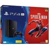 Play Station 4 Pro Nueva  Spiderman Super Precio