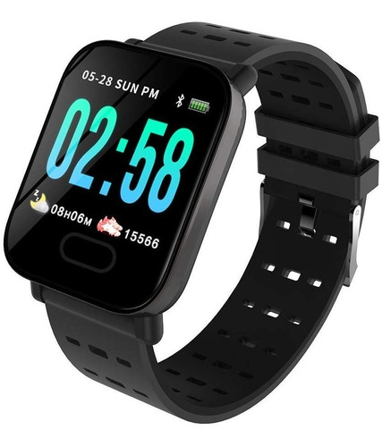 Pulsera Inteligente Reloj Contador Pasos Calorias Whatsapp