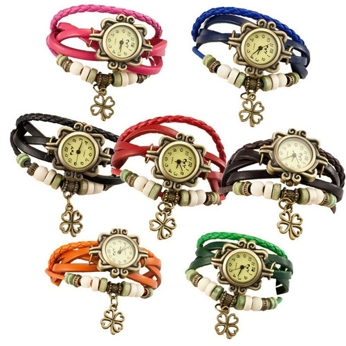 Rolojes O Reloj Para Mujer Niña Dama Funcional En Cuero Moda ed4b06d8193c
