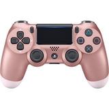 Control Ps4 Dualshock 4. Rose Gold 2da Generación + Grips