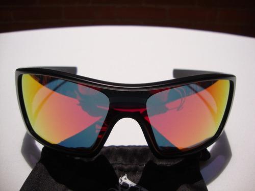 062270be6d Nuevas Gafas Oakley Batwolf Negra Mate Lente Ruby Iridium