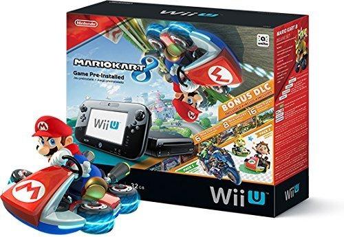 Nintendo Wii U Console Mario Kart 8 Deluxe Set Con 32 Gb De