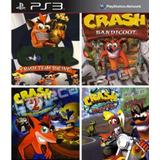 Crash Ps3 Combo 4 Juegos En Uno Ps3 Original Entrega Hoy