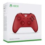 Control Xbox One S Rojo. Entrega Inmediata + Regalo: Grips