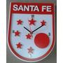 Reloj Santa Fe En Madera Detalles En Alto Relieve