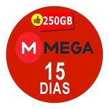 Cuentas Premium Mega 15 Dias Oficial 250gb Envio Inmediato