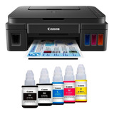 Impresora Canon Multifucional Canon G2100 Tintas Originales