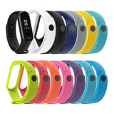 Correas Manillas Pulsera Silicone Mi Band 4 / 3
