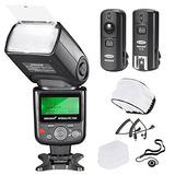 Neewer Pro I-ttl Flashdeluxe Kit Para Nikon Dslr D7100 D7000