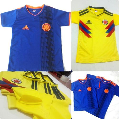 9198791d294fd Camiseta Seleccion Colombia Para Niño