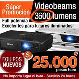 Alquiler De Video Beam, $25.000 X Hora. Tel: 322 4363013