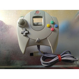 Control Original De Sega Dreamcast,color Blanco Hueso.