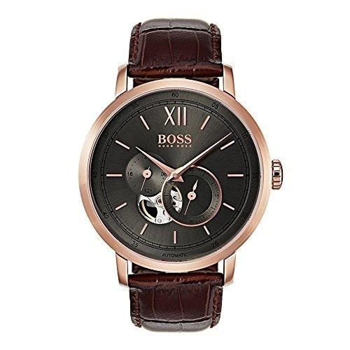 1658456820e5 Hugo Boss 1513506 Firma Reloj De Los Hombres Reloj Cafe 44 M