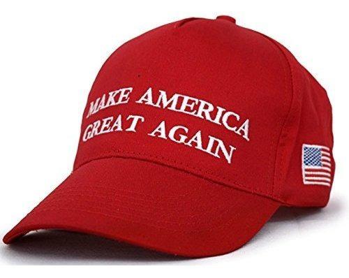 Gorra De Beisbol Ajustable Con Diseño De Donald Trump De Ma