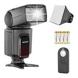 Kit Flash Neewer Tt560 Speedlite Para Canon Nikon Olympus Fu