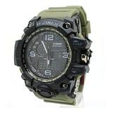 Reloj Tipo Militar,el Indestructible D Ziner, Gtía De 5 Años
