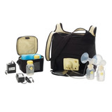 Extractor Leche Materna Electrico Doble Medela The Go Should