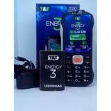 Celular Energy 3 Conexión Bluetooth A Smartphone